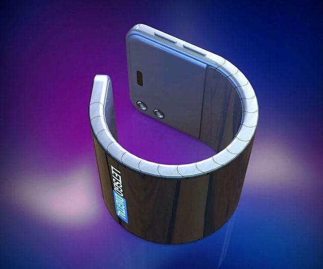 Samsung запантентовала наручный смартфон: смотрим фото концепта