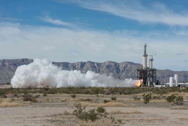 Компания Blue Origin провела испытание суборбитального аппарата New Shepard