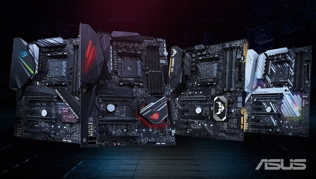 ASUS работает над дюжиной материнских плат на базе AMD X570