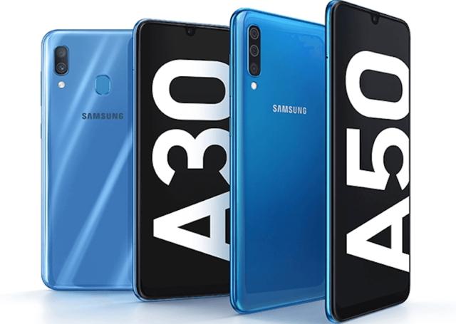 Samsung анонсировала Galaxy A50 и Galaxy A30: дисплей Infinity-U, мощная начинка и модные вырезы в экране