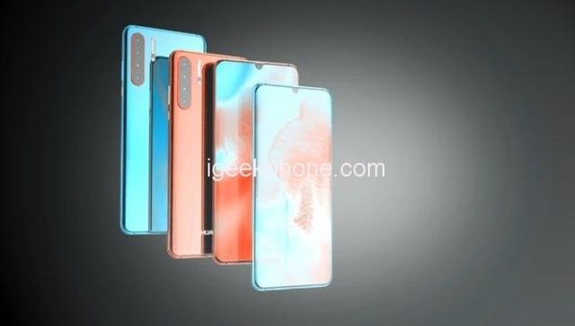 Концептуальный смартфон Huawei с поддержкой 5G появился на изображениях