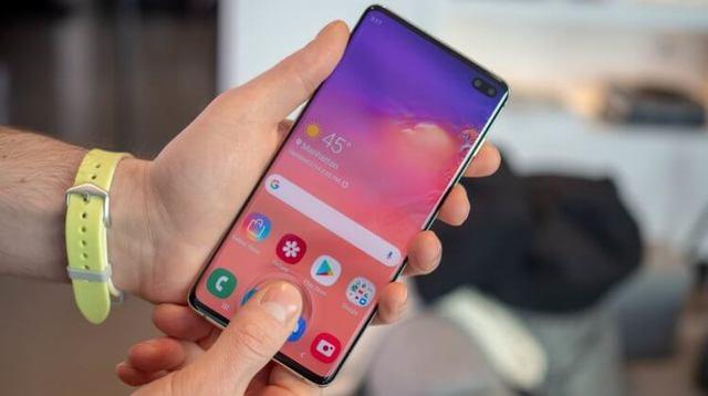 Владельцы Galaxy S10 раскритиковали дисплейный сканер отпечатков