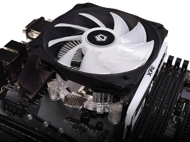 ID-Cooling DK-03 RGB PWM: низкопрофильный CPU-кулер с подсветкой