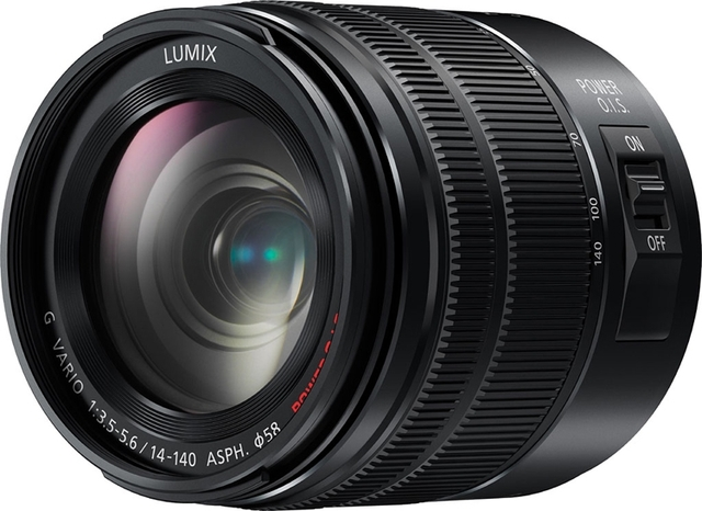 Обновлённый объектив Panasonic Lumix G 14-140mm F3.5-5.6 защищён от влаги и пыли