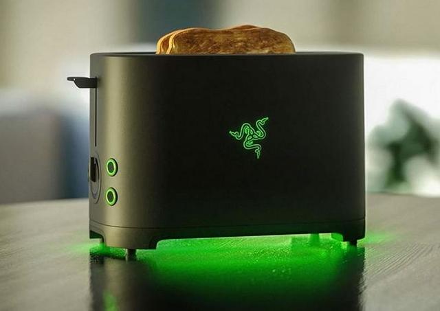 Когда шутка зашла слишком далеко: тостер Razer Toaster будет создан на самом деле
