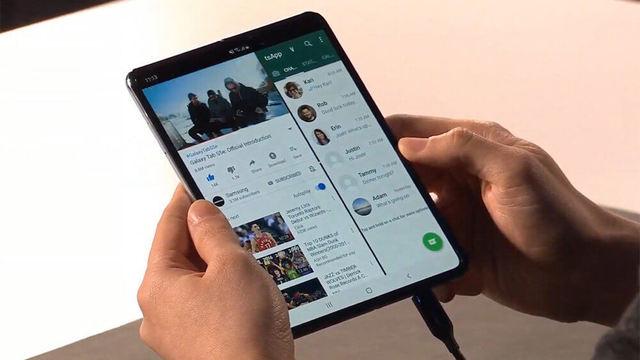 Samsung работает над еще двумя складными смартфонами