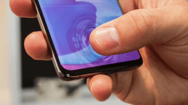 Насколько ультразвуковой сканер отпечатка пальца в Samsung Galaxy S10 устойчив к повреждениям?