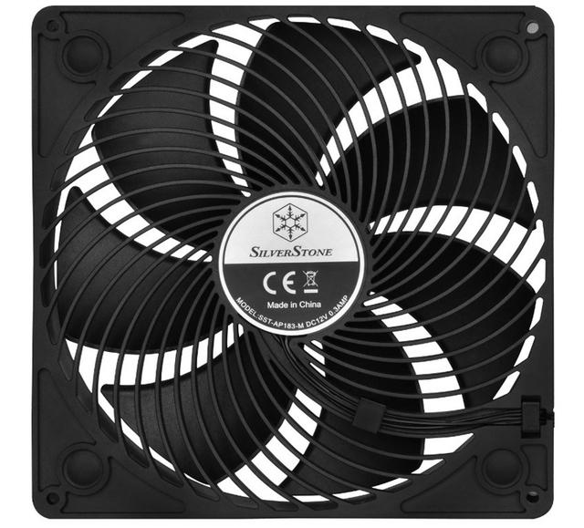 SilverStone Air Penetrator AP183: вентилятор охлаждения диаметром 180 мм