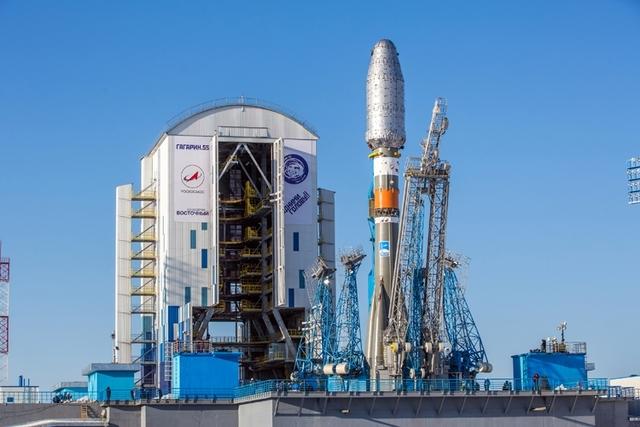 Строительство первой очереди космодрома Восточный практически завершено